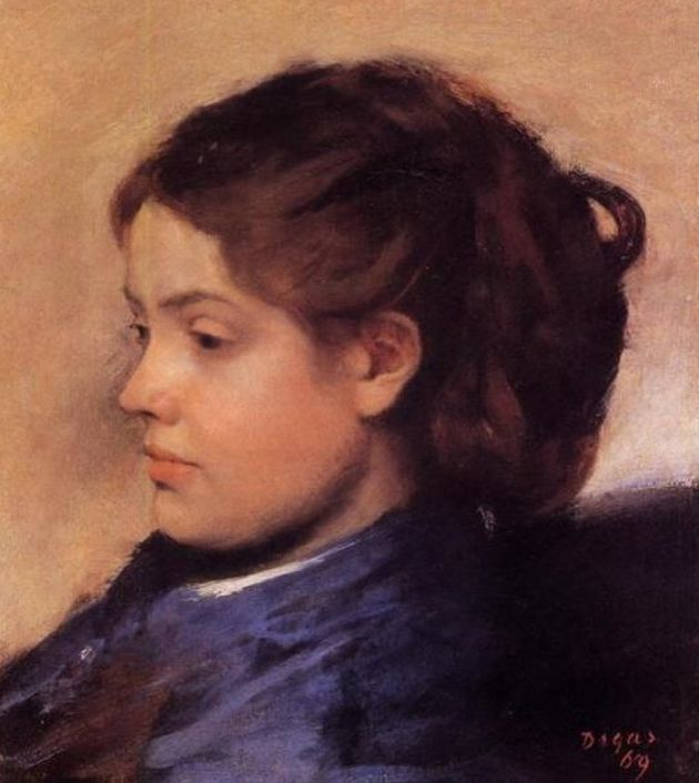 Emma Dobingy was often painted by