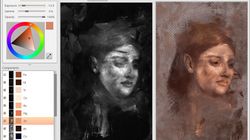 Portrait Hidden Beneath A Degas Painting Kind Of Looks Like