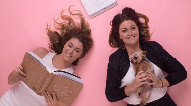 Sisters Daniele and Kaitlyn Wilton work together at Melbourne-based publisher Smudge