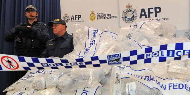 Police made a record number of drug seizures and arrests last