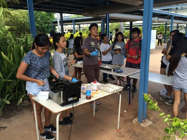 Students at Darwin High School compete annually in a small business