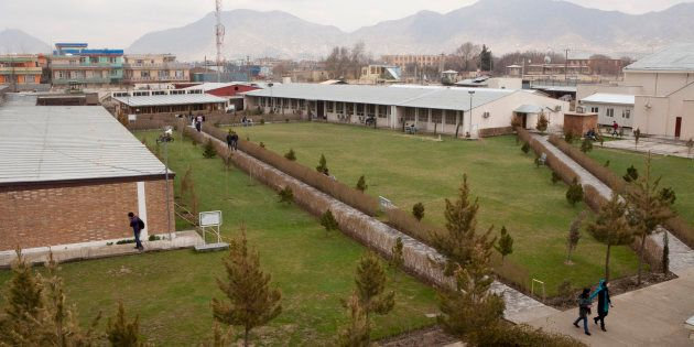 The campus at the American University of Kabul offers bachelors degrees in business administration, computer...