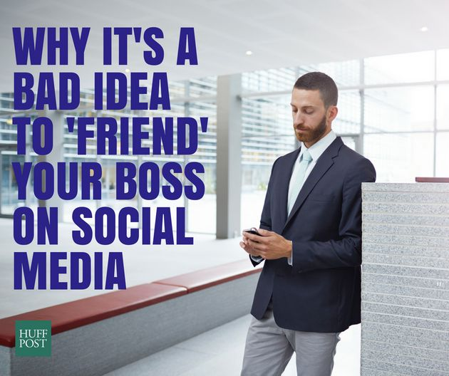The Perils Of Being 'Friends' With Your Boss On Social