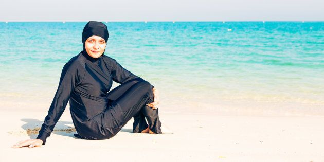 Burkinis have been banned on beaches in Cannes following a controversial