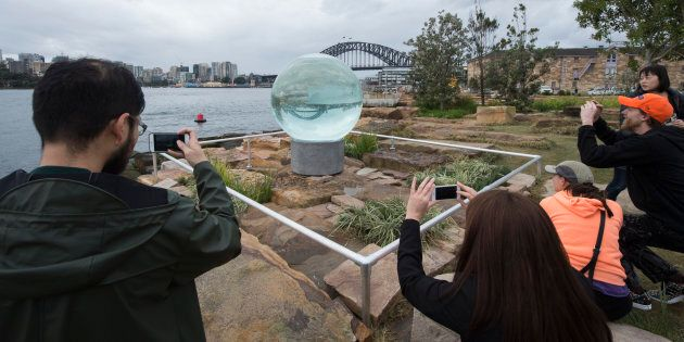 Thousands more people are expected to attend the Sculpture at Barangaroo exhibition this