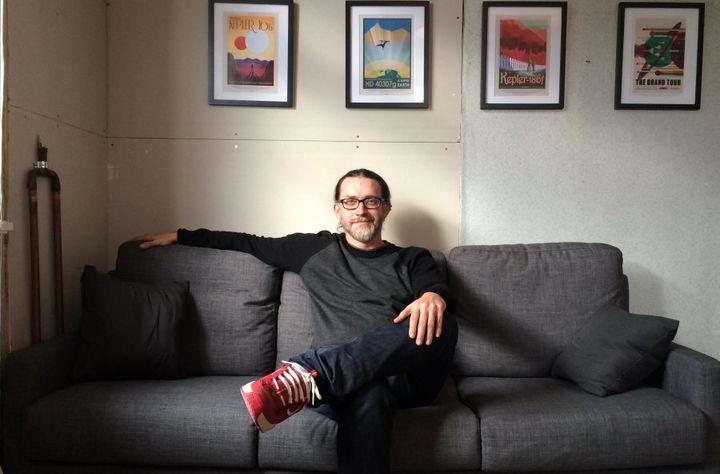 Rocket scientist turned entrepreneur Lance Lones in his Wellington office.
