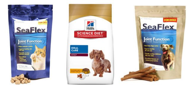 Pet lovers can now buy a range of foods that cater to pets' specific physical, dietary or dental