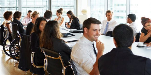 The Australian Institute of Management hopes to set a new world record for speed networking.