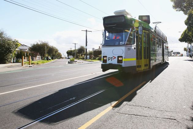 Melbourne has a whopping great tram