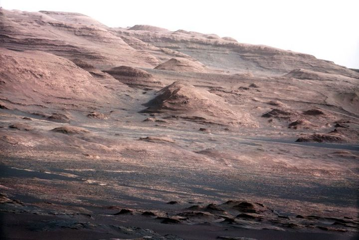 Interest in Mars has exploded since the Curiosity Rover landed on the red planet in 2012 and began sending back images such as this. This image shows the base of Mount Sharp.