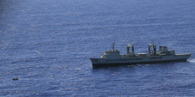 A female naval officer has made a complaint about the commander of HMAS