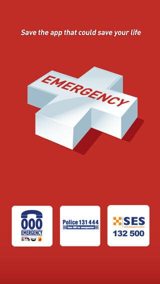 The title page of the app Emergency+, which was released in December
