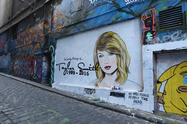 Taylor Swift's R.I.P message, before it was also