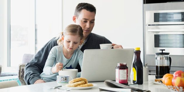More Aussie dads are taking advantage of flexible workplace policies, allowing them to spend more time...