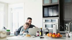 Dads Take On Bigger Child Care Role Thanks To Flexible Work