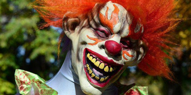 Creepy Carnival Clown