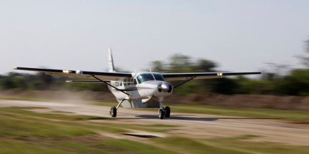 One of the light planes involved in the crash was a single-engine