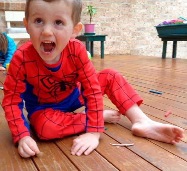William Tyrrell was wearing a Spiderman suit when he went