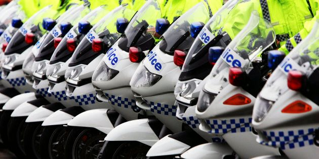 Police officers from NSW and Victoria are making their way to Canberra on