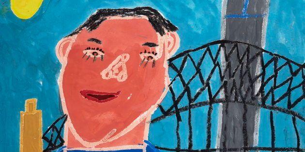 Alexander Bennett's award-winning portrait of his mate
