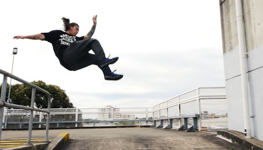 Taking Parkour From The Streets To The Sydney Opera