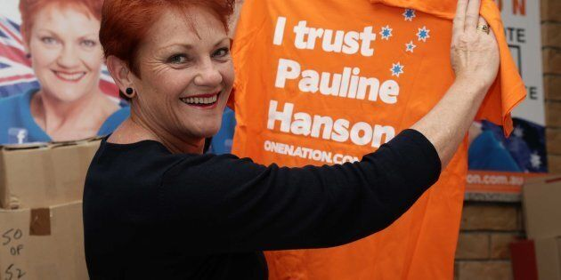Half of Australia agrees with Pauline