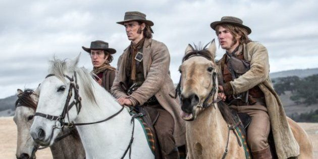 Bushrangers from the film 'The Legend of Ben