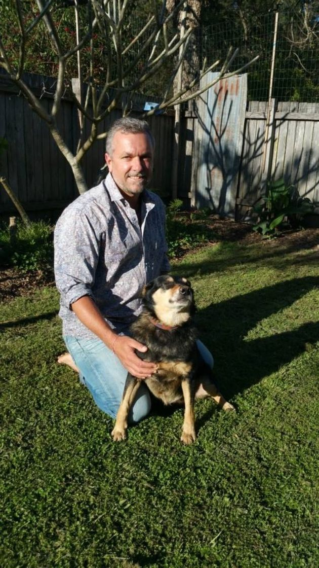 Justin Brow and his $4000 kelpie,