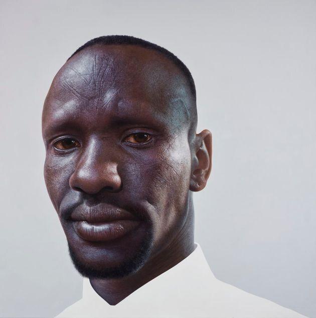 Archibald Prize finalist Nick Stathopoulos' portrait of Deng