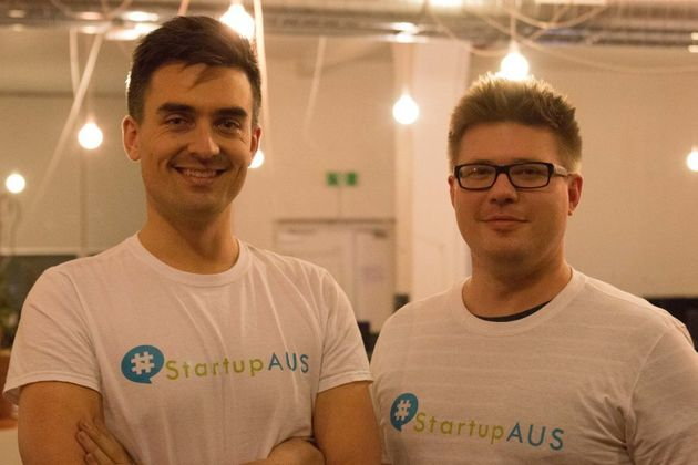 StartUpAus CEO Alex McCauley, with Content and Community Manager, Alex Gruszka, said technology has always...