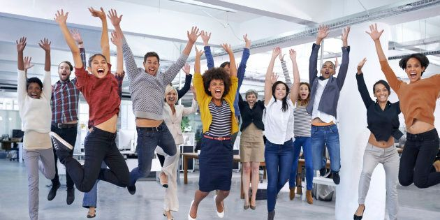 How great would it be for all your small business staff to turn up to work feeling like this each