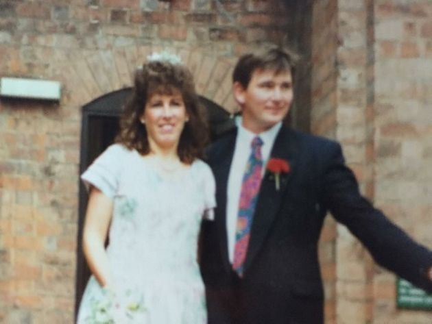 Christine and Chris Robinson, 25 years