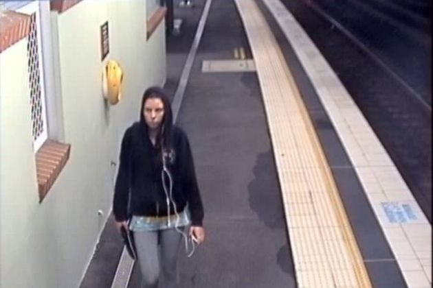 CCTV footage of the last moment Cassie was seen on