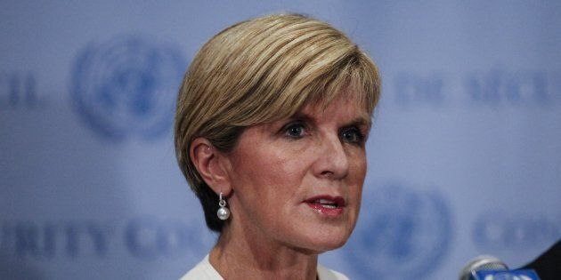 Julie Bishop believes all options must be on the table in the Syrian