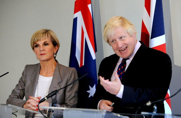Foreign Minister Julie Bishop met with her British counterpart, Boris Johnson, in early September. Bishop...