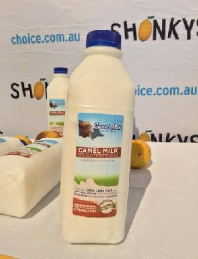 Camel Milk is more than $20 per