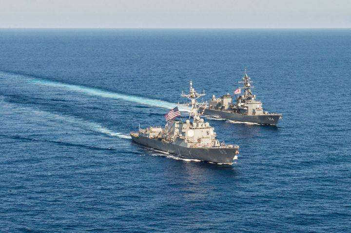 Japan wants to step up joint patrols with the U.S. in the South China Sea, a move that has raised Beijing's ire.
