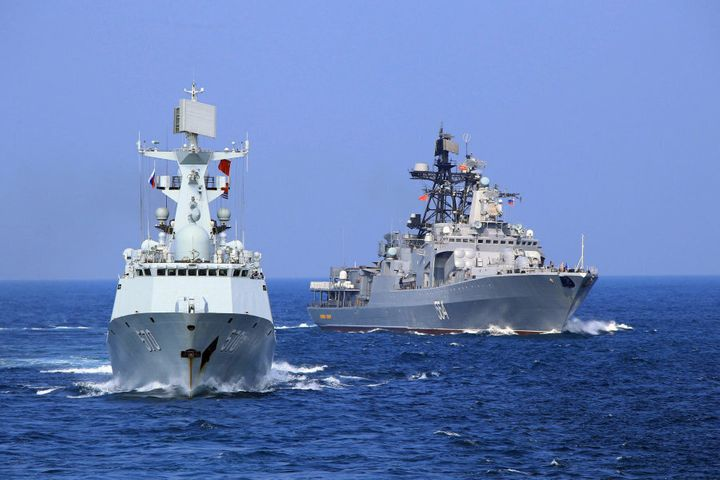 In September the Chinese and Russian navies launched eight days of war games in the South China Sea, in a sign of growing cooperation between their armed forces against the backdrop of regional territorial disputes.