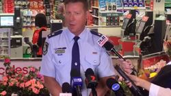 Cops Hold A Facebook Live At Coles To Slap Down Self-Service