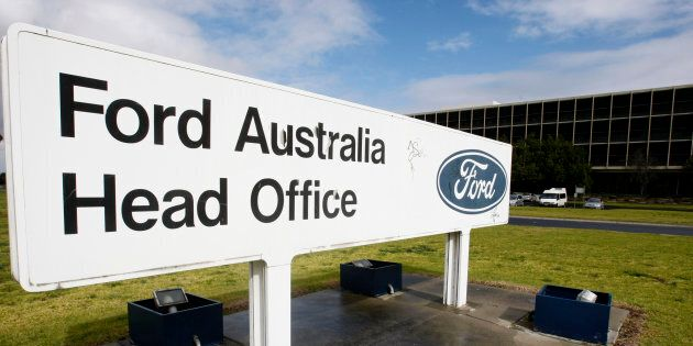 Ford Australia's head office in