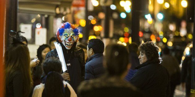 Clown sightings have spread from the United States and United Kingdom to
