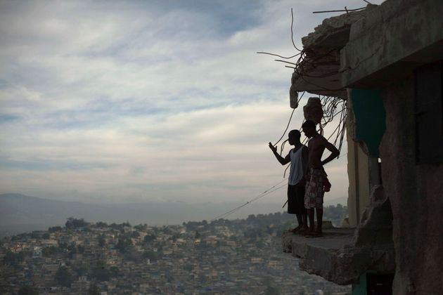 Much of Port-au-Prince in Haiti was destroyed by an earthquake that killed around 250,000
