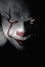 The new-look Pennywise in the remake of Stephen King's horror film IT. Just as