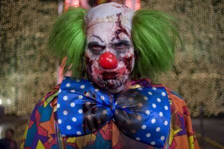 Is this the ugliest/scariest clown of all? Zombieland only featured one clown but he takes the