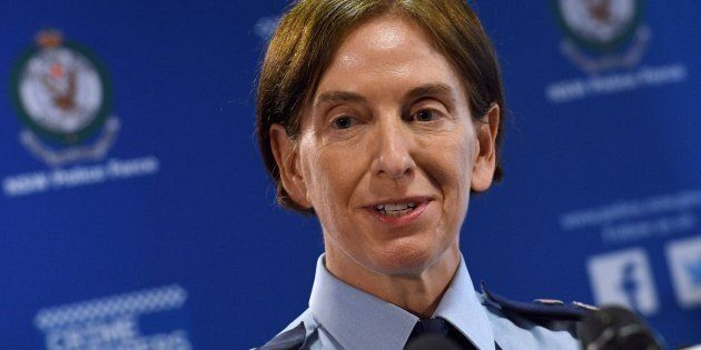 New South Wales Acting Police Commissioner Catherine Burn addresses the media after two 16-year-old boys...
