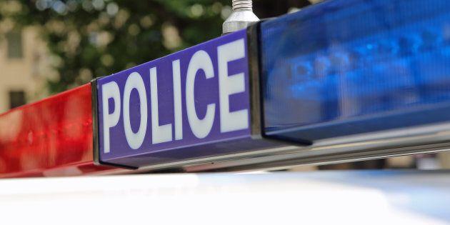 Police in Hobart. Tasmania.
