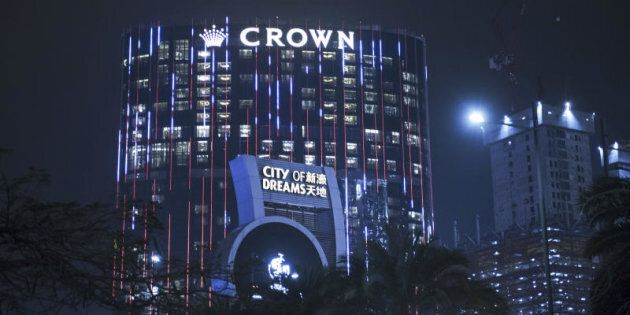 Crown Resort's City OF Dreams complex in