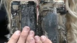 Surfer's iPhone7 Bursts Into Flames, Wrecks His Car: