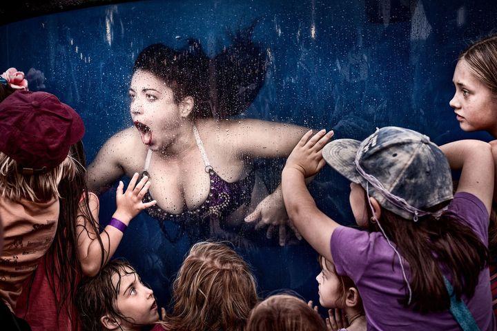 Mermaid show by Johannes Reinhart