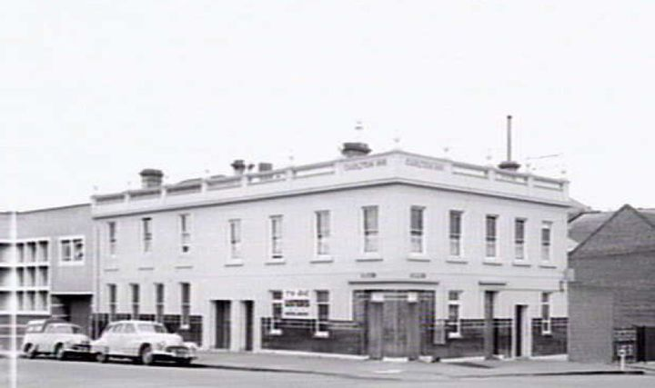 The Corkman Irish Pub building in 1957.